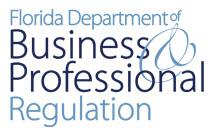FL department of business professional regulation