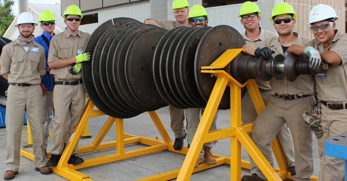turbine generator maintenance