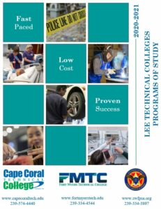 Lee Technical Colleges School Catalog Cover